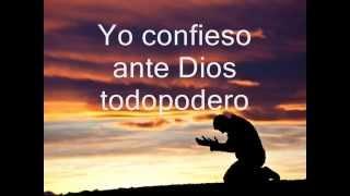 Oracion del Yo confieso