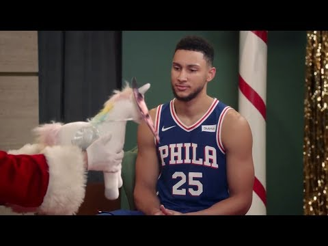 FUNNY NBA Christmas Commercials 2017 Lebron James, Stephen Curry, Ben Simmons, James Harden, Durant
