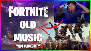 HOW TO GET BACK THE OLD FORTNITE MUSIC (NON REMIX VERSION) - N'IMPORTE QUELLE SAISON