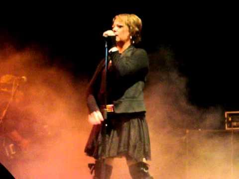 Annette Moreno. Te he lastimado. Tour 2011