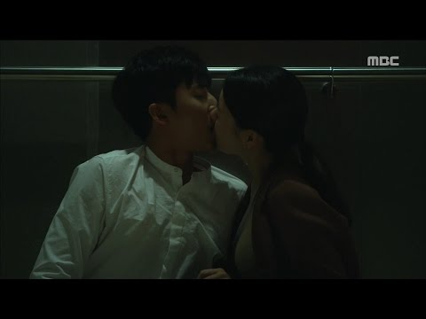 Windy Mipog 불어라 미풍아 22회  Ho Jo and jiye share kiss 20161106