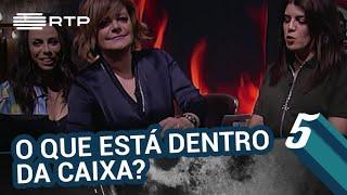 O que está dentro da caixa? c/ Júlia Pinheiro | 5 Para a Meia-Noite | RTP