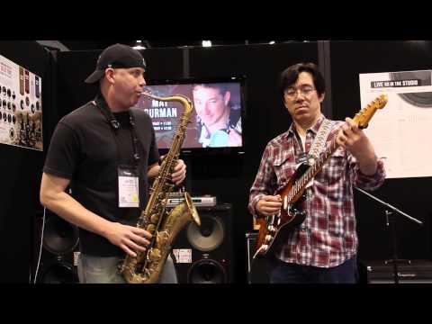 Tenor Madness - Unbelievable guitar and sax duet Tomo Fujita and James Calandrella