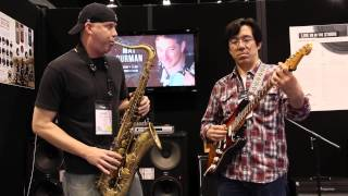 Tenor Madness - Unbelievable guitar and sax duet Tomo Fujita and James Calandrella