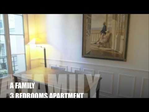 family apartment rental in Paris