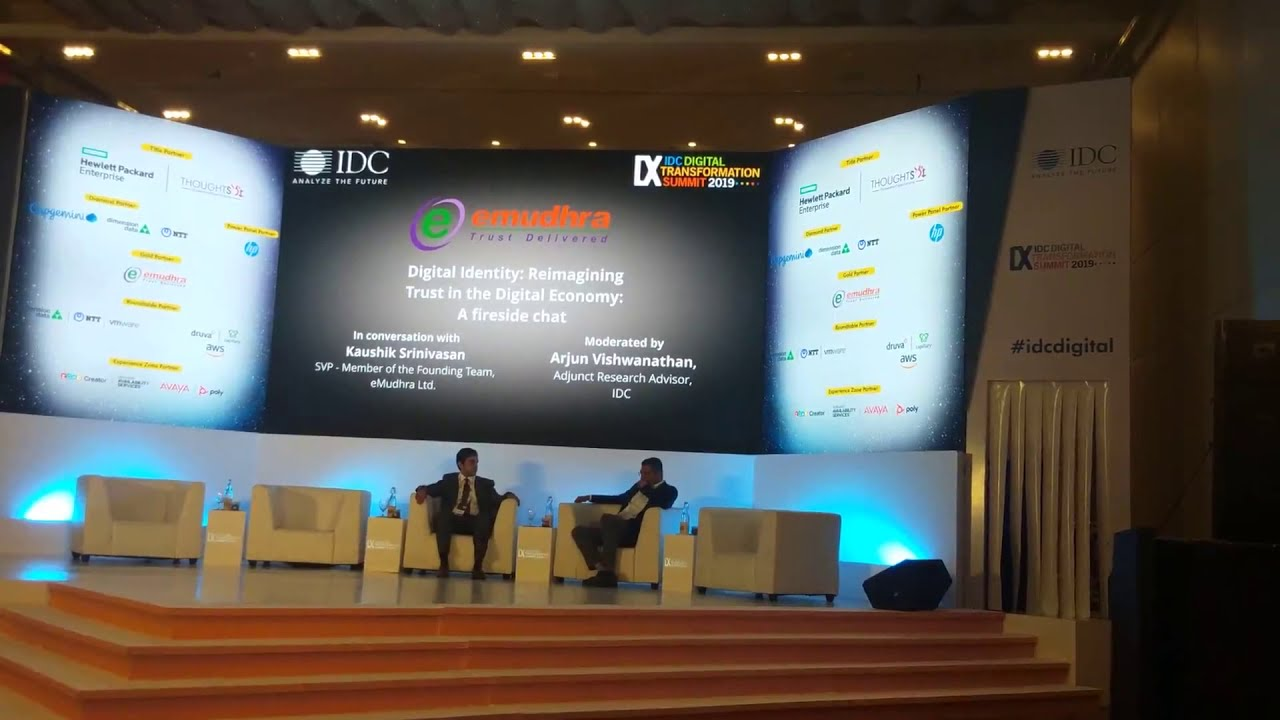 Kaushik Srinivasans Fireside Chat at IDC DX Summit India