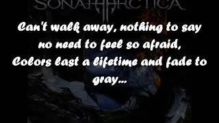 Everything Fades To Gray - SONATA ARCTICA - Lyrics - 2009 - HD