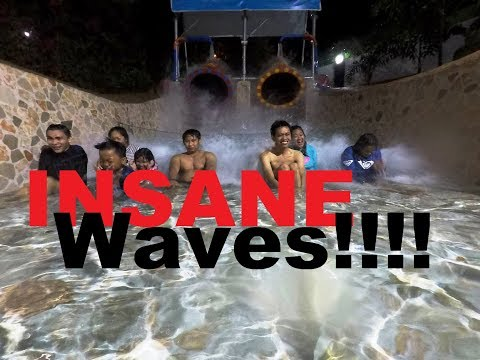 Insane Waves at Antipolo Star Resort (GoPro Hero 5 Night Test)