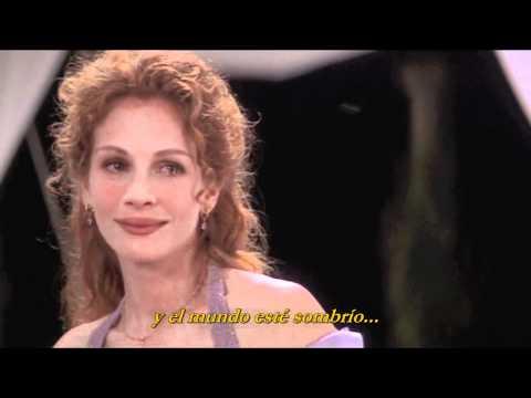 My Best Friend's Wedding - The Way You Look Tonight (B.S.-Scene)[Sub.Español]