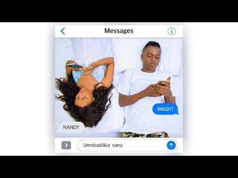Bright ft Nandy - Umebadilika (Chat lyrics)