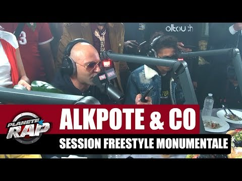 Youtube: Alkpote – Session freestyle monumentale (Caballero & JeanJass, Roméo Elvis, Luv Resval, Savage Toddy