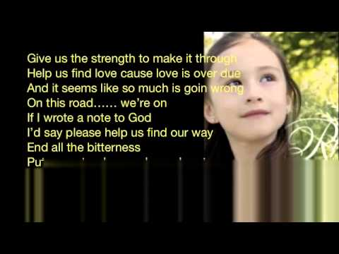 Rhema Marvanne   Note to God   with lyrics  1