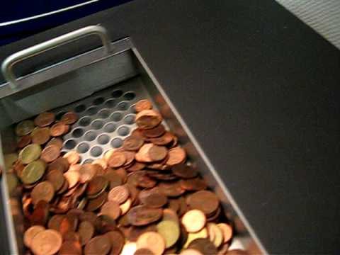 Coin Counting machine - Münzzählmaschine