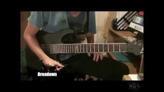 Korn - Good God (Guitar Tutorial w/ Tabs) by Kirjai