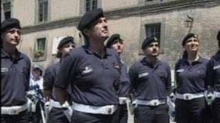 Napoli - Nuovo capo dei Vigili Urbani in sostituzione di Sementa (24.07.12)