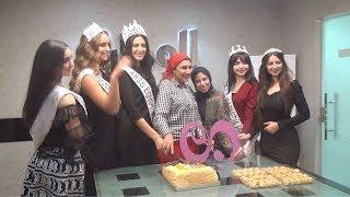 """ملكات جمال مصر في ضيافة """"الوطن"""""""