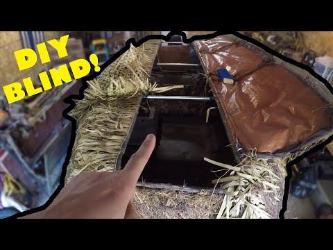 DIY Hard Side DUCK BOAT BLIND (Duck Hunting)