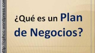 Plan de Negocios o Empresa