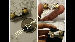 Mini Ferrero Rocher DIY! (GOOD FOR PACKING DECOR)