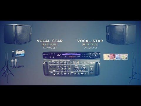 Vocal-Star Big Gig Karaoke Set