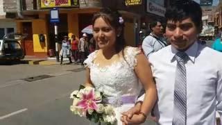 BODA EN HUANCAYO-VIQUES (FAMILIA MARIN PORRAS - EDISON Y MILI) 27/07/2016