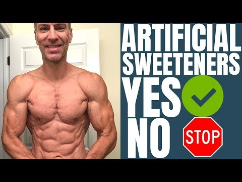 Artificial Sweeteners During Contest Prep