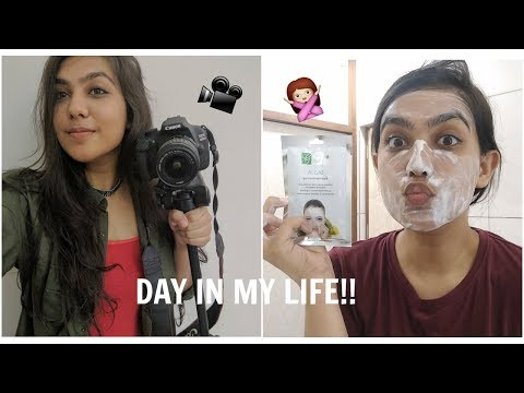 Day In My Life: How I Film my Videos , Weekend Pampering! | Arushi Sharma