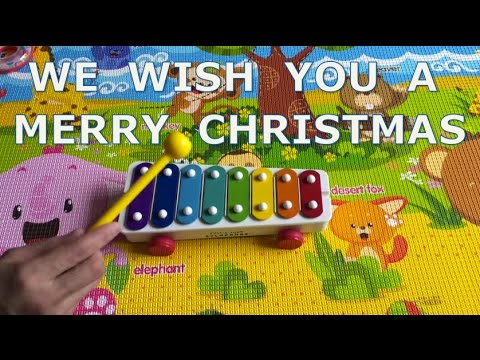 We Wish You a Merry Christmas on Fisher Price Xylophone - YouTube