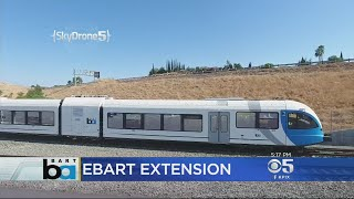 Construction Of eBART Extension In East Bay Can