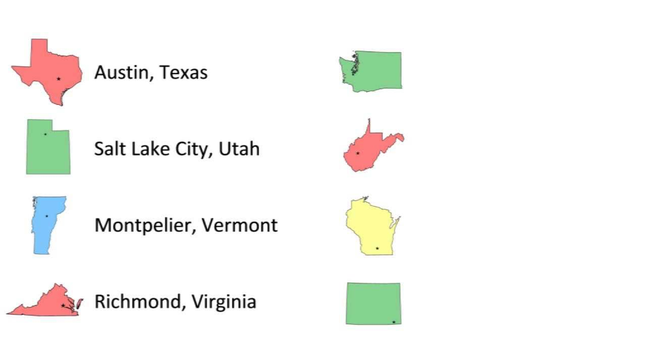 State Capitals Singin Smart Song And Lyrics YouTube - States of usa in alphabetical order with capitals