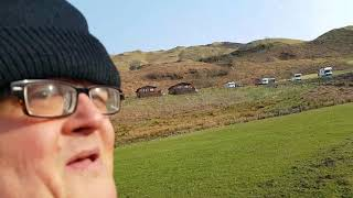 Oban caravan and Camping site in Gallanache farm