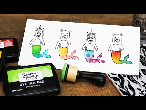 Colorful Stamping Techniques and Tricks | Simon Hurley for Scrapbook.com