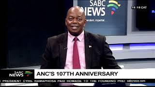 Prof Tinyiko Maluleke on ANC's 107th anniversary