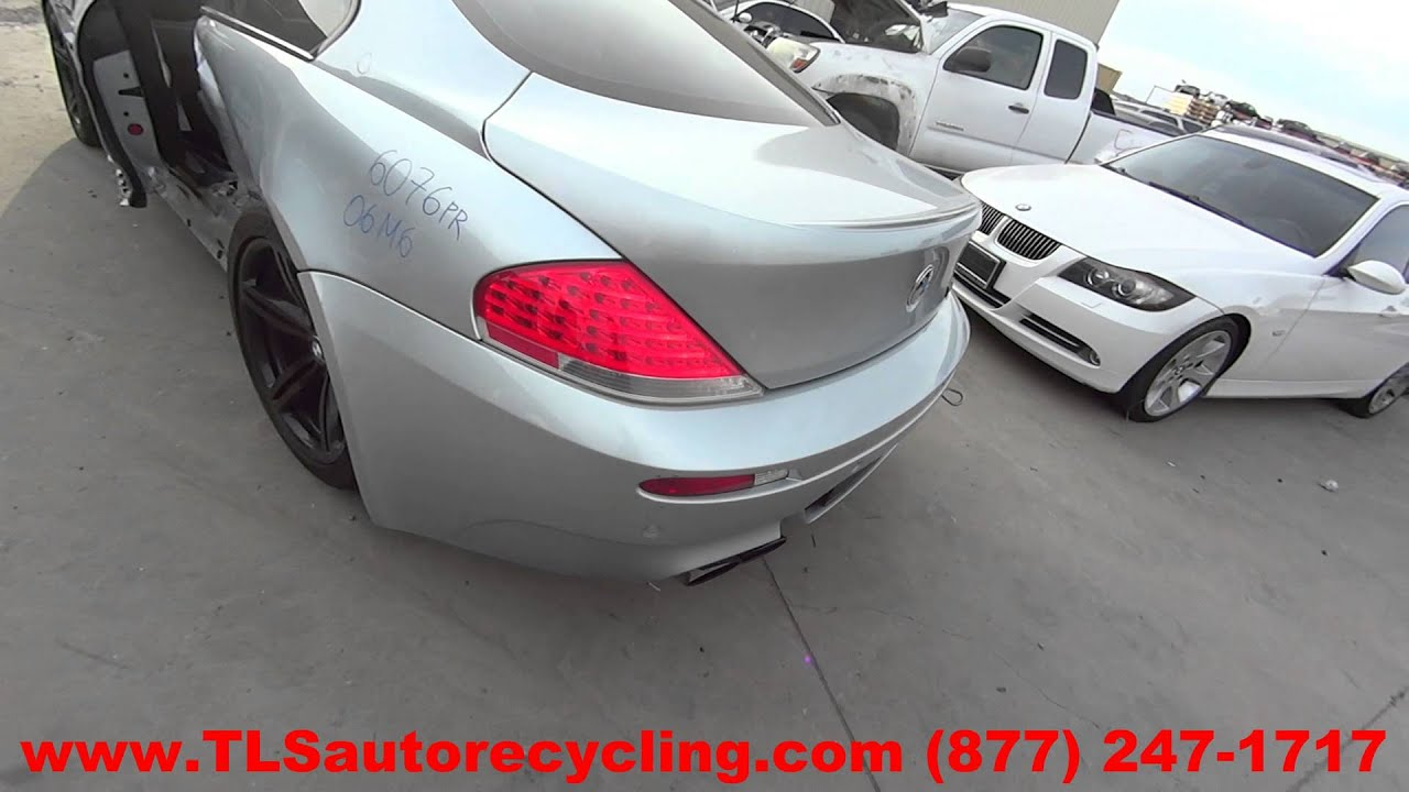 2006 BMW M6 Parts For Sale  1 Year Warranty  YouTube