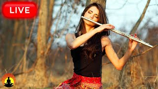 🔴 Relaxing Flute Music 24/7, Calm Music, Relaxing Music, Flute Music, Meditation, Study, Sleep, Zen