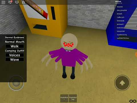 Roblox Baldis Basics New Spider Baldi Morph Youtube