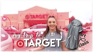 my trip to target