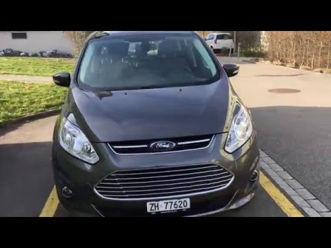 Ford C-MAX ENERGI Test-Drive - Electric Mode