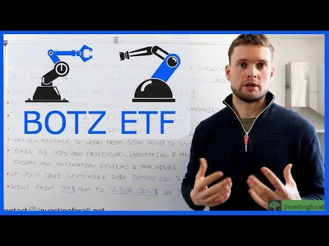 Why I'm buying Robotics and A.I ETF [$BOTZ] – My favorite ETF!
