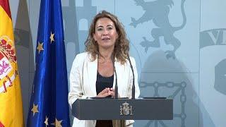 """Raquel Sánchez se compromete a """"restaurar la convivencia y colaboración"""" en Catalunya"""
