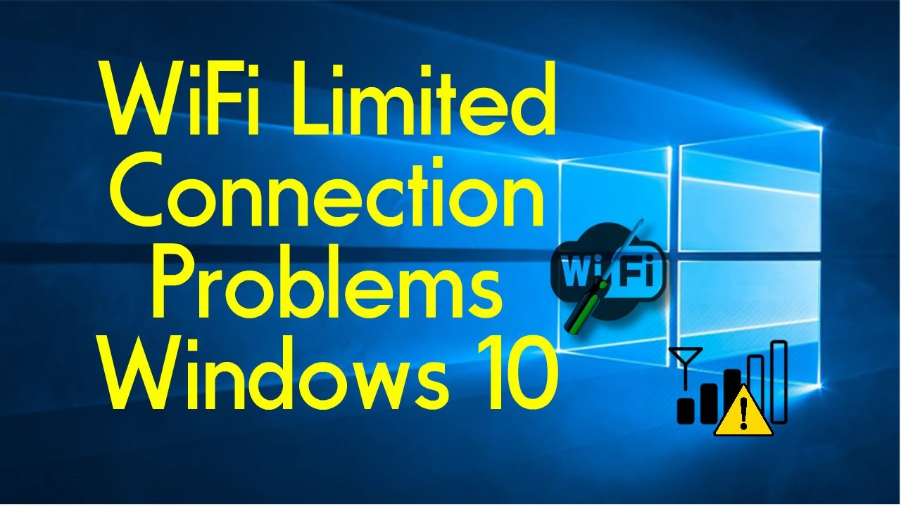 limited wireless connection windows 10