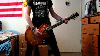 Motley Crue Piece of Your Action guitar cover