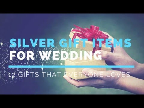 12 Perfect Silver Gift Items For Indian Wedding That Everyone Will Love