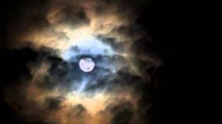 Moon and aureola timelapse