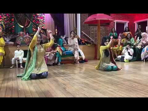 Pakistani Mehndi Dance 2019. Sisters Dance 💖