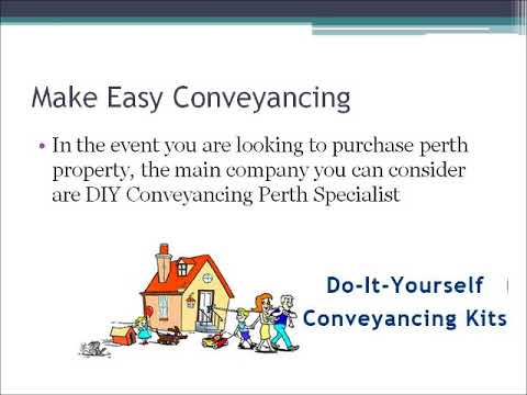 Lets do diy conveyancing with perth property experts youtube lets do diy conveyancing with perth property experts solutioingenieria Images