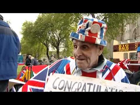 British eccentrics look forward to royal wedding as atmosphe