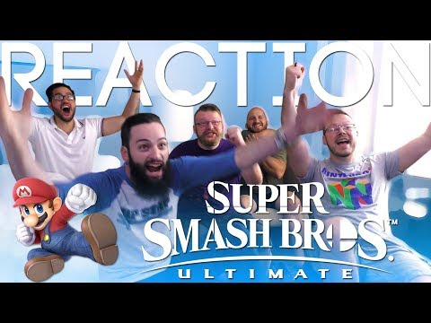 Super Smash Bros Ultimate  E3 2018 Trailer REACTION!!