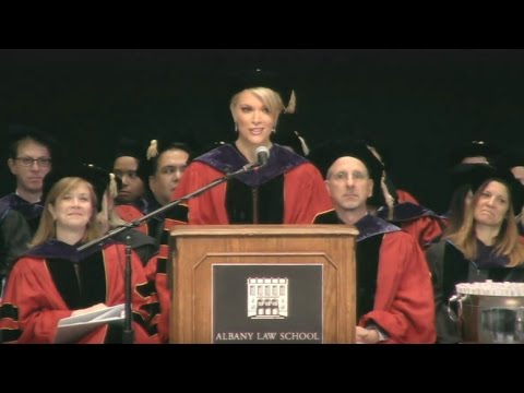 Megyn Kelly '95 Commencement Speech — Albany Law School