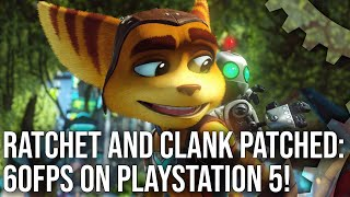Ratchet and Clank PS5 Patch - A Practically Flawless 60FPS Upgrade